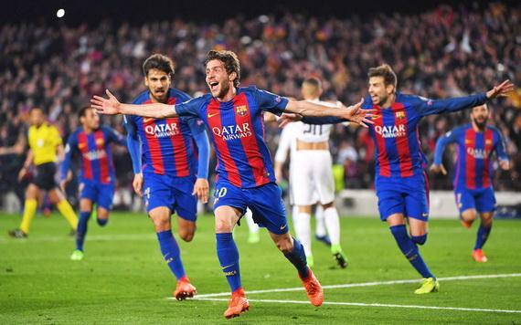 Barcelona từng làm nên chiến thắng tưng bừng với tỉ số 6-1 trước PSG