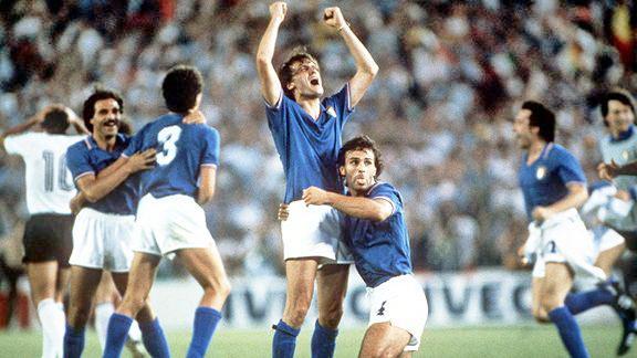 Paolo Rossi là người hùng của tuyển Italia tại World Cup 1982