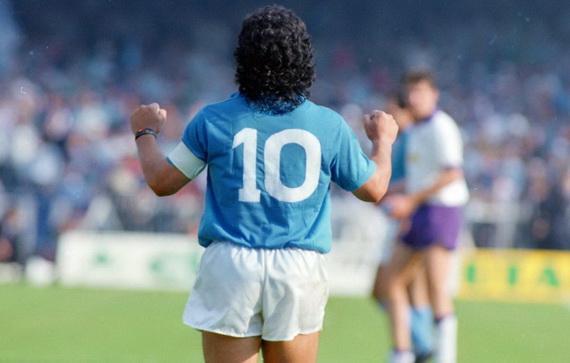 Số 10 gắn liền với tên tuổi của Maradona