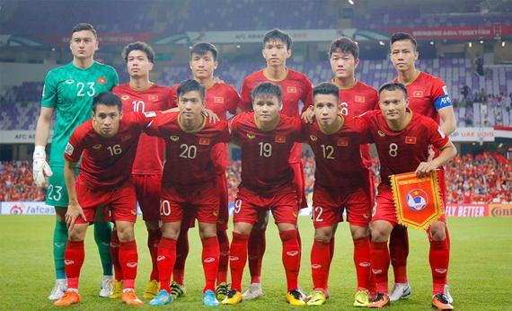Tuyển Việt Nam leo lên vị trí thứ 93