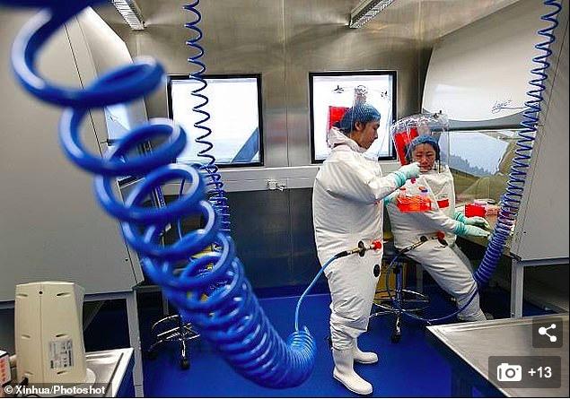 Những hình ảnh hiếm hoi trong phòng thí nghiệm virus Vũ Hán