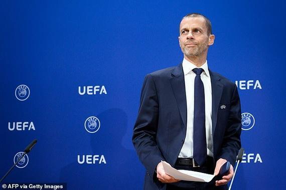 chủ tịch Aleksander Ceferin thông báo quyết định hoãn Euro 2020!