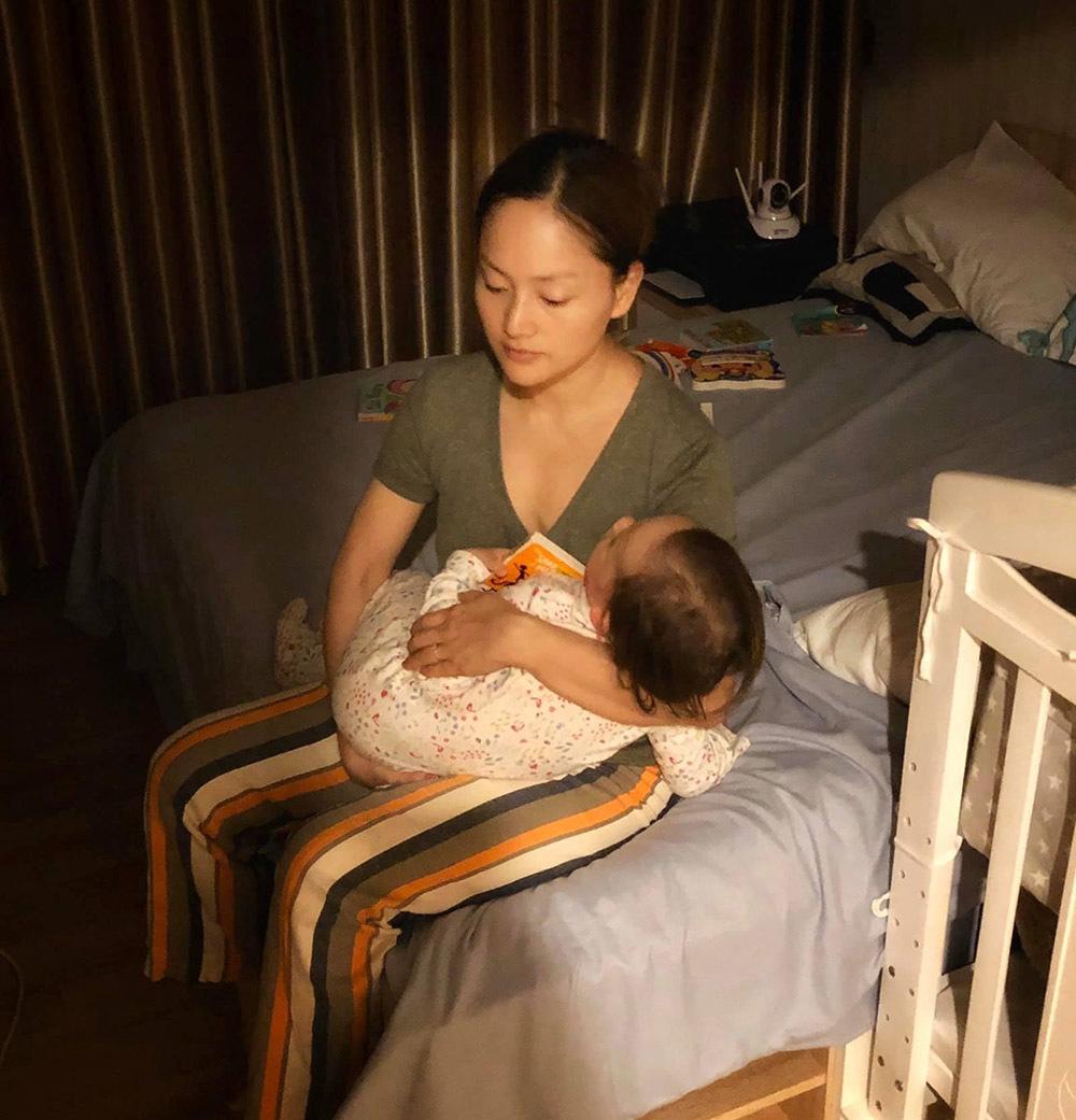 Hương Lan khoe cháu nội lai Tây, Trinh Kim Chi trong veo tuổi đôi mươi