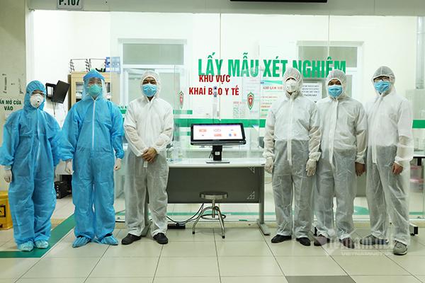 Sàng lọc không tiếp xúc người nghi nhiễm Covid-19 bằng công nghệ