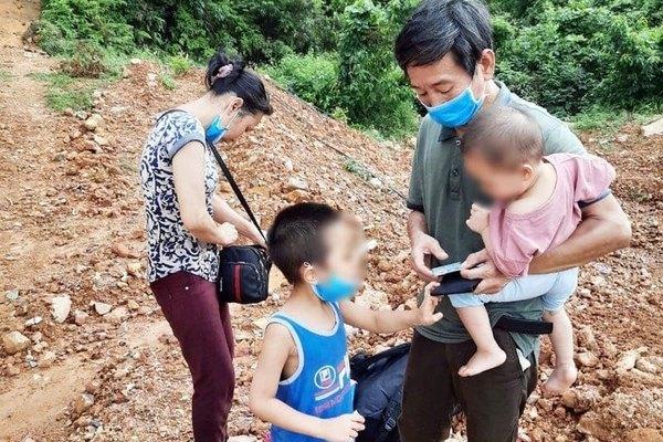 Cách ly 4 người lội sông từ Trung Quốc nhập cảnh trái phép vào Việt Nam