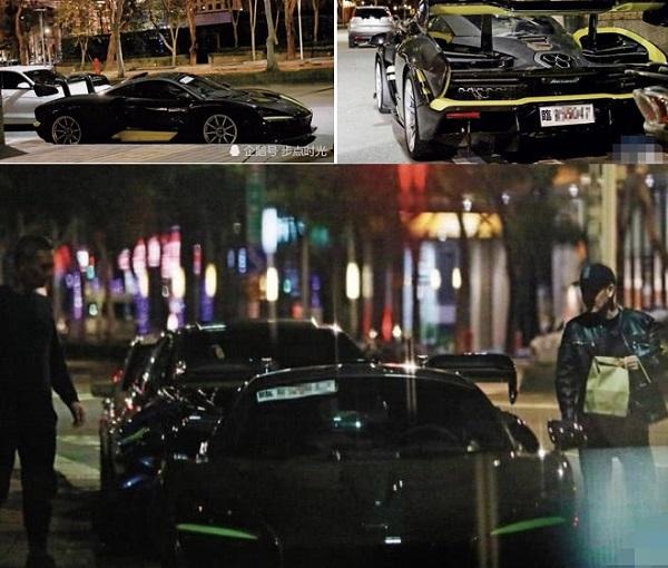 Bộ sưu tập siêu xe của Lâm Chí Dĩnh
