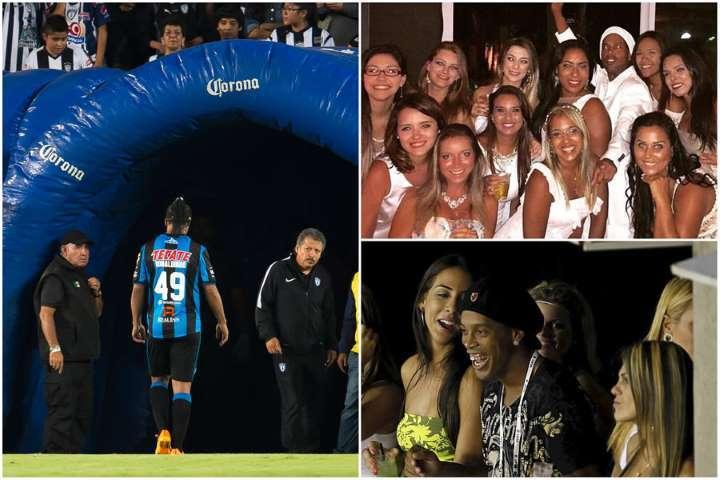 Ronaldinho, giữa vòng tay người đẹp và cơn nghiện bar