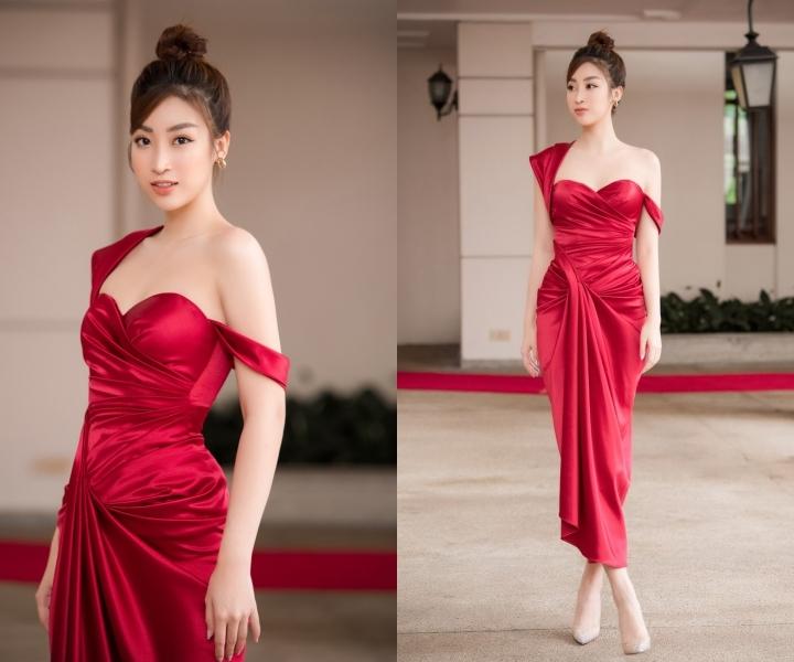 Hương Giang, Ngọc Trinh ngọt ngào, duyên dáng với váy xoè