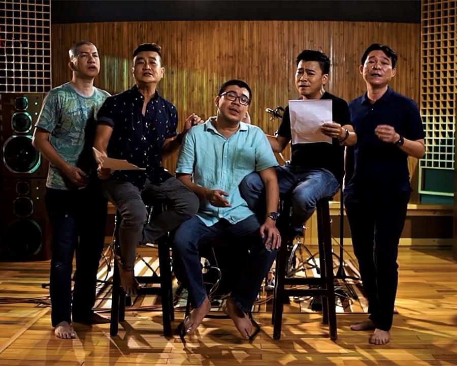 Tuấn Thăng rủ Đàm Vĩnh Hưng, Maya hát 'phòng trà online'