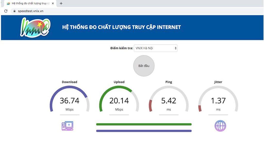 VNNIC công bố kết quả đo tốc độ truy cập của người dùng Internet Việt Nam quý I/2020 | VNNIC lần đầu công bố kết quả đo tốc độ truy cập Internet của người dùng