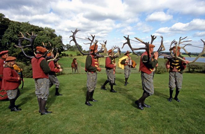 Lễ hội Abbots Bromley Horn Dance, Staffordshire, Anh: